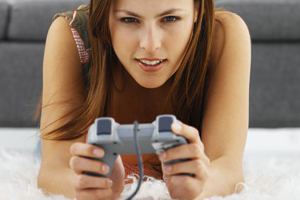 Nearly one in five female gamers (17 percent) also admitted they play online ...